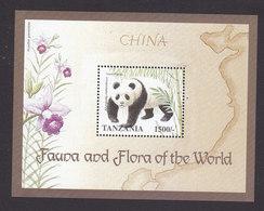 Tanzania, Scott #1717-1718, Mint Never Hinged, Fauna And Flora, Issued 1998 - Tanzanie (1964-...)