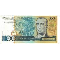 Billet, Brésil, 100 Cruzados, 1987, Undated (1987), KM:211c, SUP+ - Brésil