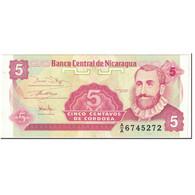 Billet, Nicaragua, 5 Centavos, 1991, Undated (1991), KM:168a, SPL+ - Nicaragua