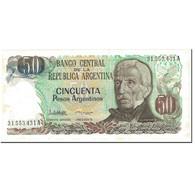 Billet, Argentine, 50 Pesos Argentinos, 1985, Undated (1985), KM:314a, SPL - Argentine
