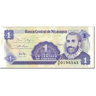 Billet, Nicaragua, 1 Centavo, 1991, Undated (1991), KM:167, SUP+ - Nicaragua