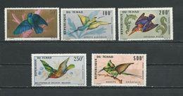TCHAD  Scott C27-C31 Yvert PA30-PA34 (5) ** Cote 33,00$ 1966-7 - Tchad (1960-...)