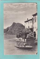 Small Antique Postcard Of Gandria E Monte San Salvatore,Lugano Lake Lugano,Ticino, Switzerland.,R41. - TI Tessin