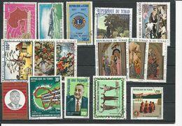 TCHAD  Voir Détail (16) O Cote 4,75$ 1967-71 - Tchad (1960-...)