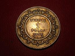 Tunisie - Protectorat Français - 1 Franc 1908 A 3741 - Tunisie
