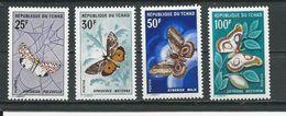 TCHAD  Scott 15-162 Yvert 157-160 (4) ** Cote 32,00 $ 1968 - Tchad (1960-...)