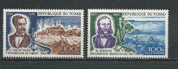 TCHAD  Scott C49-C50 Yvert PA53-PA54 (2) ** Cote 5,00 $ 1969 - Tchad (1960-...)