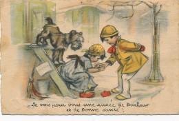 H27 - Illustrateur Germaine BOURET - Je Vois Pour Vous Une Année De Bonheur Et De Bonne Santé - Bouret, Germaine