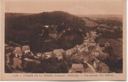 HIERGES  VUE GENERALE  SON CHATEAU - France