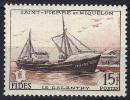 Saint-Pierre-et-Miquelon N° 352 ** Bateau - St.Pierre & Miquelon