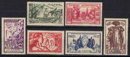 St Pierre Et Miquelon N° 160 - 165 * Exposition Internationale De Paris - St.Pierre & Miquelon