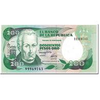Billet, Colombie, 200 Pesos Oro, 1992, 1992-08-10, KM:429A, NEUF - Colombie