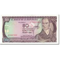 Billet, Colombie, 50 Pesos Oro, 1985, 1985-01-01, KM:422b, SPL - Colombie