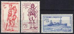 St Pierre Et Miquelon N° 207 - 209 * - St.Pierre & Miquelon