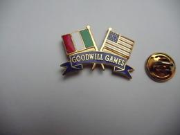 Beau Pin's En EGF , Sport , Italie , Goodwill Games , Seattle 90 - Judo