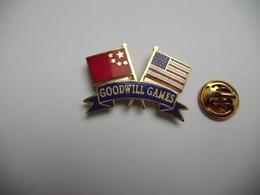 Beau Pin's En EGF , Sport , Chine , Goodwill Games , Seattle 90 - Judo