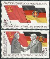 DDR 1972 Mi-Nr. 1759/60 ** MNH - Neufs
