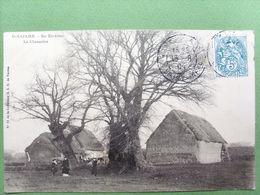44 ,saint Nazaire ,environs ,la Chaumière En 1904   . Circulée Timbrée.... - Saint Nazaire