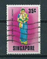 1976 Singapore 35 Cent Costumes Used/gebruikt/oblitere - Singapore (1959-...)