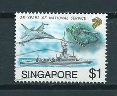 1992 Singapore $1 Northrop Used/gebruikt/oblitere - Singapore (1959-...)