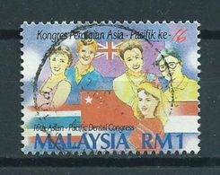 1993 Malaysia Congress Used/gebruikt/oblitere - Maleisië (1964-...)