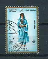 1989 Oman Costumes 150b. Used/gebruikt/oblitere - Oman