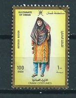 1989 Oman Costumes 100b. Used/gebruikt/oblitere - Oman