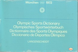 Olympisches Sportwörterbuch : Dt., Engl., Français, Espanol = Olympic Sports Dictionary = Dictionnaire Des Spo - Books, Magazines, Comics