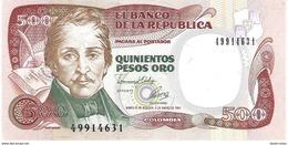 Colombia - Pick 431A - 500 Pesos Oro 1993 - Unc - Colombia