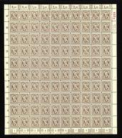 Am-Post-Bogen,18Dz,BT.3,mit VI,gefaltet,xx (M7) - Bizone