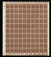 Am-Post-Bogen,22Az,BT.10,mit III,xx (M7) - Bizone