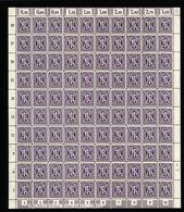 Am-Post-Bogen,17aAz,BT.BT.31,mit XX,xx (M7) - Bizone