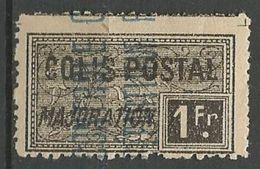 ALGERIE COLIS POSTAUX YVERT N° 14 / MAURY N° 20 NEUF* TRACE DE CHARNIERE TB / MH - Algérie (1924-1962)