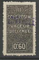 ALGERIE COLIS POSTAUX YVERT N° 55 / MAURY N° 67 NEUF** LUXE  SANS CHARNIERE / MNH - Algérie (1924-1962)