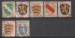 Allierte Besetzung / Französische Zone: Freimarken: Wappen Der Länder /  MiNr.: 1-4, 6,8, 9 - Zone Française