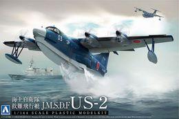 J.S.M.D.F Distress Flight Sea Boat US-2 1/144 Aoshima - Airplanes