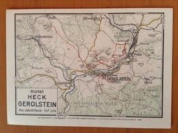 Gerolstein.Hotel Heck Carte Accès - Non Classés