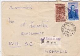 Brief Von S. Daniele Del Friuli In Die Schweiz (br2601) - 6. 1946-.. Republic