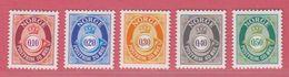 1997 ** (sans Charn., MNH, Postfrish)  Yv  1194/8Mi  1237/41 NHK  1284/8 - Norvegia