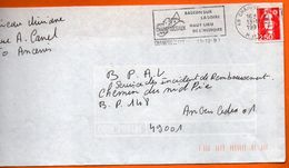 49 CHAMPTOCEAUX     LA LOIRE   1991 Lettre Entière 110x220 N° JJ 808 - Marcophilie (Lettres)