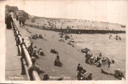 ANGLETERRE SHERINGHAM THE BEACH CIRCULEE 1923 - Non Classés