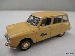 Voiture Miniature 1/43 Em   - Citroen Ami 6 Break  Poste Peinture  -   Jaune   -  D'origine Etat Proche Du Neuf - Toy Memorabilia
