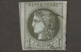 France Numero 39B Deuxieme Choix Infime Clair Belle Presentation - 1870 Bordeaux Printing