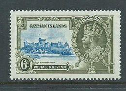 Cayman Islands 1935 Silver Jubilee 6d MNH - Cayman Islands