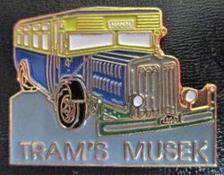 "MERCEDES BENZ "" Bus TRAM'S Musek Luxemburg "" Pin - Trasporti"