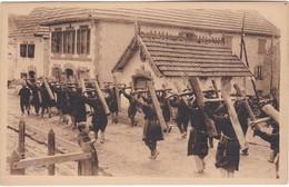 TYPES BASQUES - Las Cruzes - Retour De La Procession Des Croix à Ronceveaux - Midi-Pyrénées
