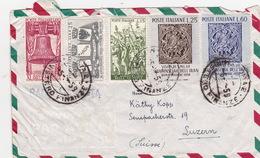 Brief Von Roma MInstero Finanze In Die Schweiz (br2610) - 6. 1946-.. Republic