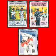 LIBYA - 1983 Police Traffic Polizei (MNH) - Police - Gendarmerie