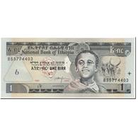 Billet, Éthiopie, 1 Birr, 2000, UNDATED (2000), KM:46b, NEUF - Ethiopie