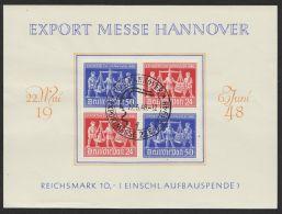 """Mi-Nr. 969/70, """"Hannover""""-Messe, VZd1 Auf Sonderblatt Mit ESst. FDC - Gemeinschaftsausgaben"""